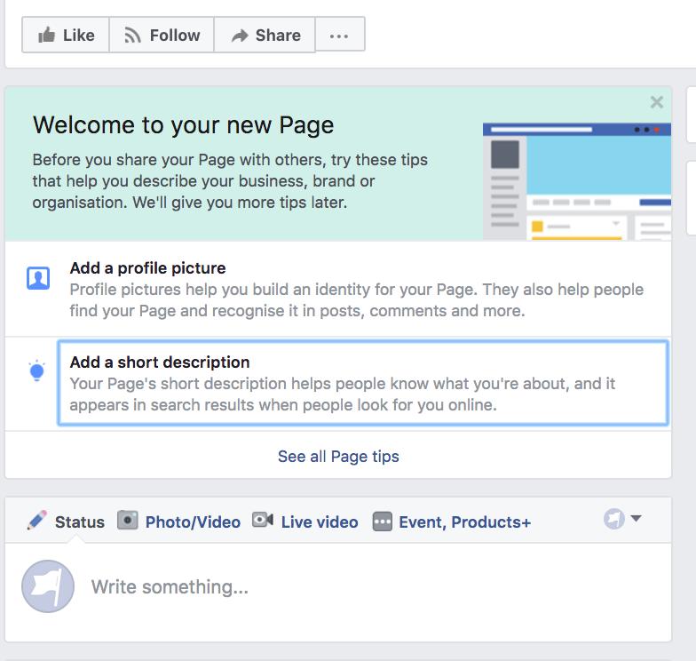 Perusta Facebook-sivu – seuraa Facebookin antamia ohjeita ja vinkkejä