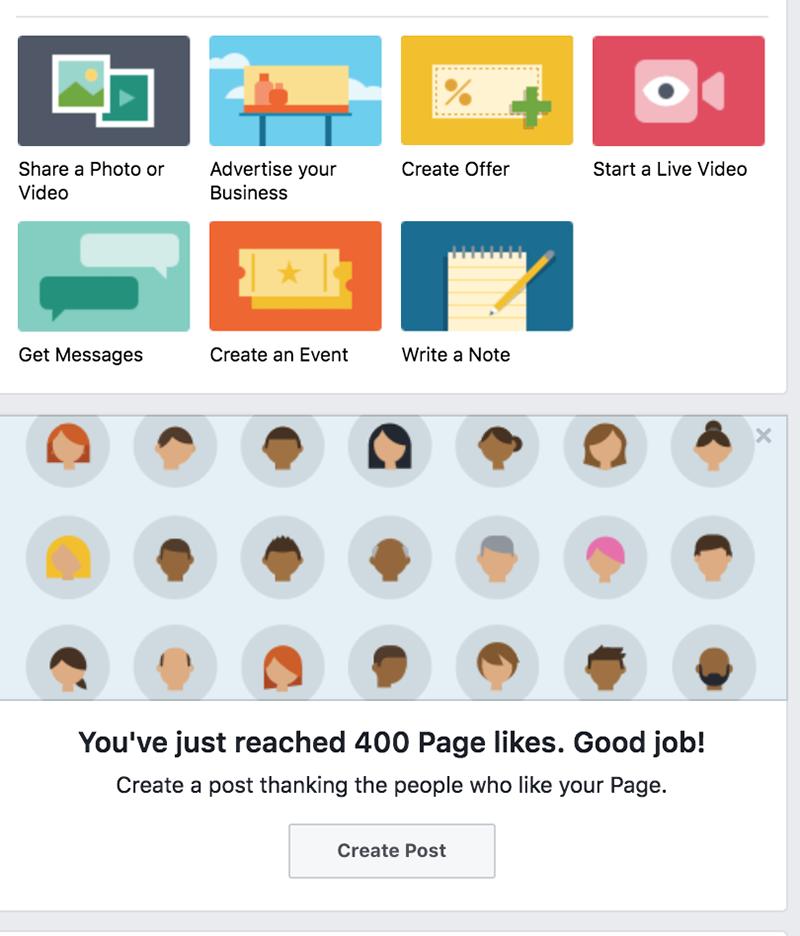 Facebook-sivun perustaminen - Facebook neuvoo
