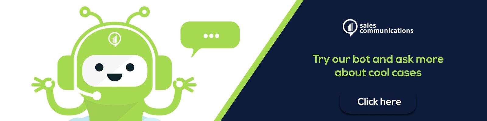 Sales Communications case