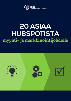 HubSpot-verkkokoulutus
