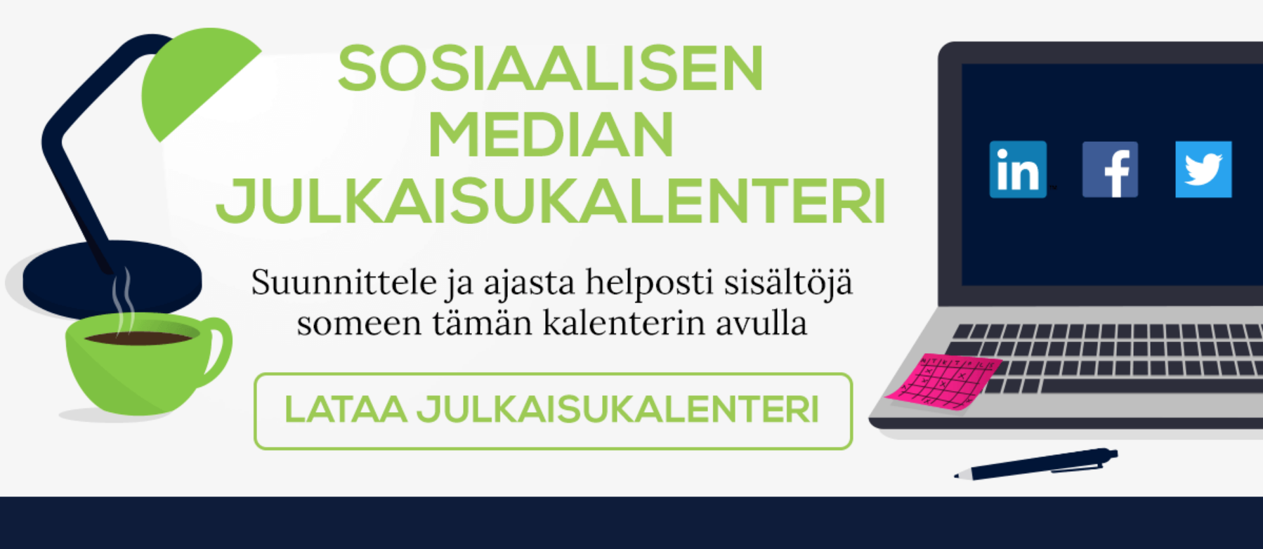 Sosiaalisen median julkaisukalenteri, Esimerkki inbound-markkinoinnista