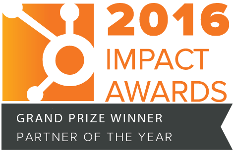 HubSpot impact awards 2016