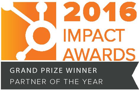 HubSpot impact awards 2016