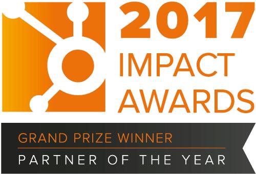 HubSpot impact awards 2017