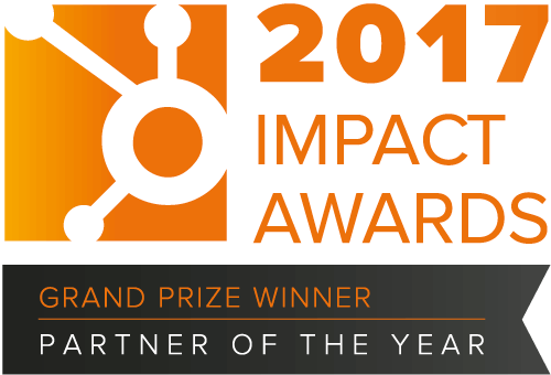 HubSpot impact awards 2017