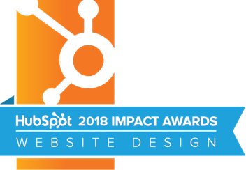 HubSpot Website Design Impact Award